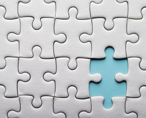 puzzelstukken integratie
